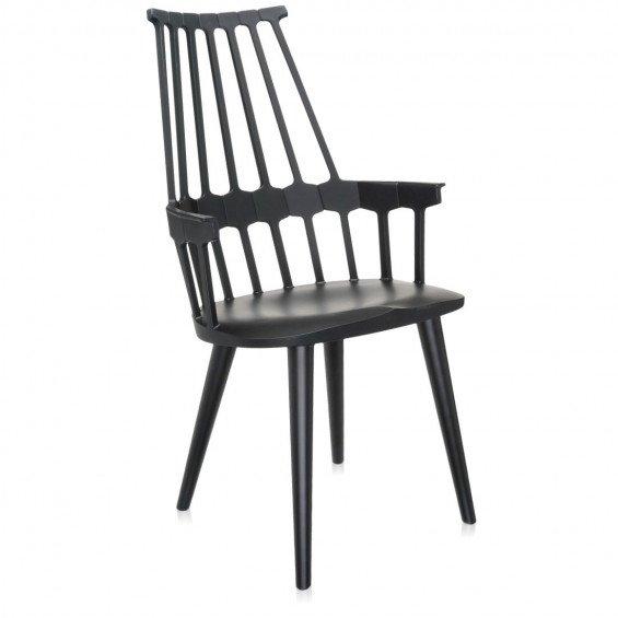 Comback Chair Stoel, Houten Onderstel