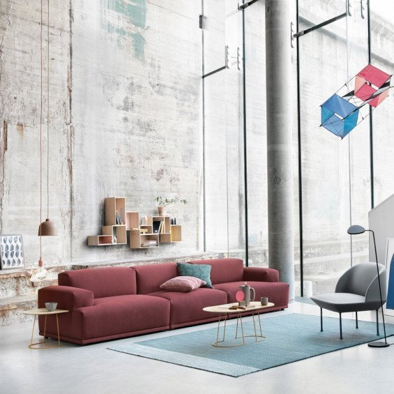 Design Bank Stof.Muuto Connect Sofa Bank Misterdesign