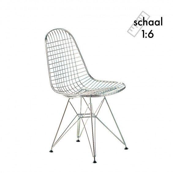 DKR Wire Chair Miniatuur