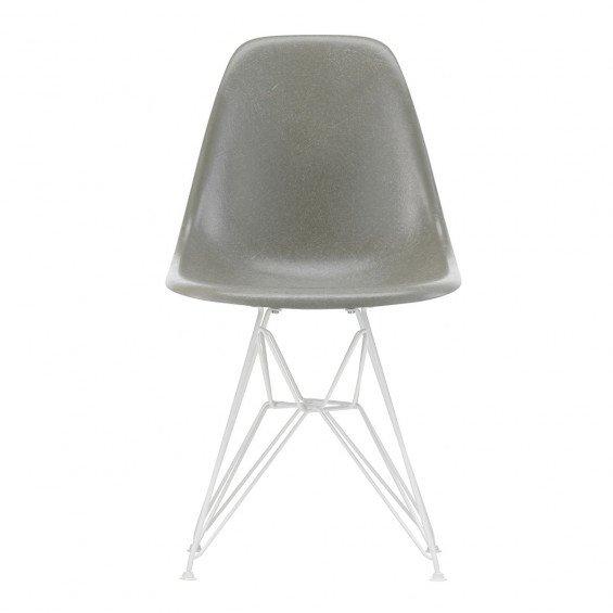 Vitra Eames Fiberglass Chair DSR Wit