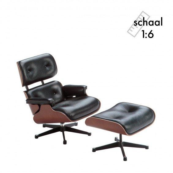 Lounge Chair & Ottoman Miniatuur
