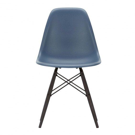 Vitra Eames Plastic Chair DSW Stoel Esdoorn Zwart Onderstel