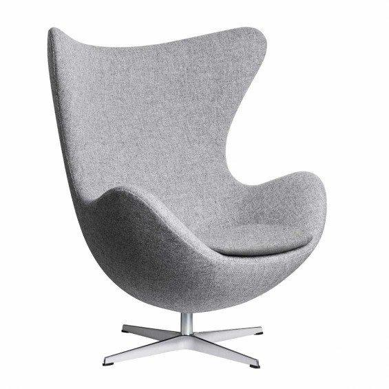 Egg Chair Bruin Leer.Fritz Hansen Egg Chair Misterdesign
