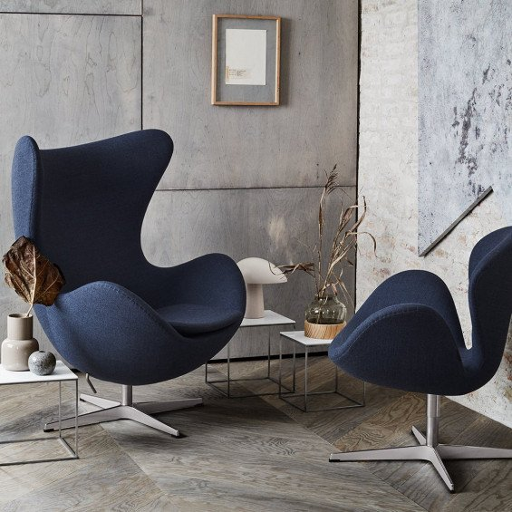 Arne Jacobsen Egg Chair Te Koop.Fritz Hansen Egg Chair Misterdesign