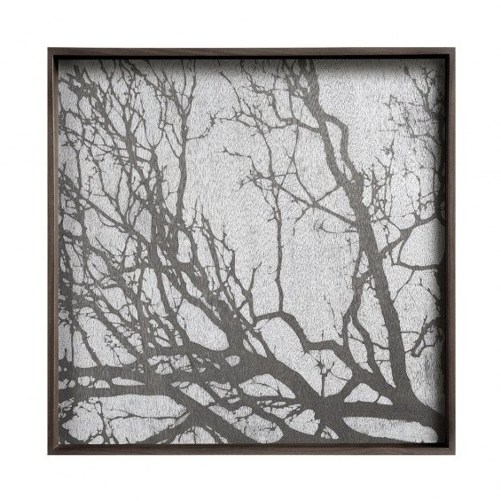 Ethnicraft White Tree Dienblad Vierkant - L - 51 x 4 x 51 cm.