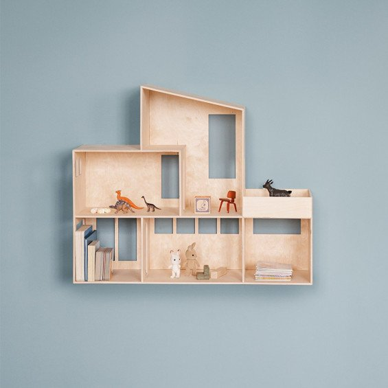 Ferm Living Funkis Dollhouse Poppenhuis | MisterDesign