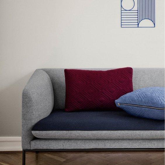 3 Zits Bank Blauw.Ferm Living Turn Sofa 3 Zits Bank Katoenmix Misterdesign