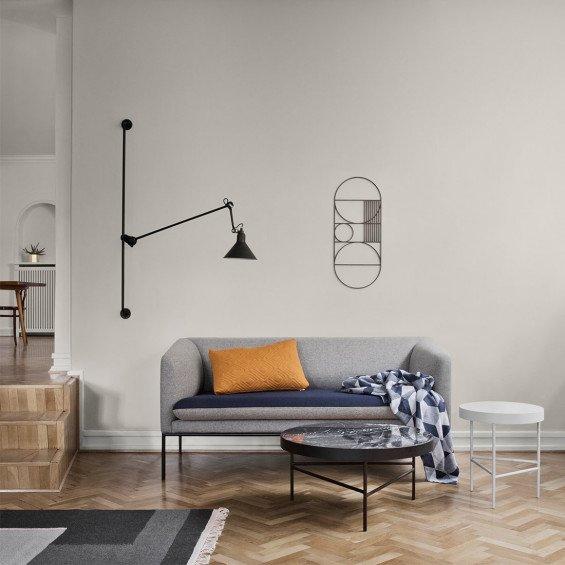 2 Zits Bank Design.Ferm Living Turn Sofa 2 Zits Bank Katoenmix Misterdesign