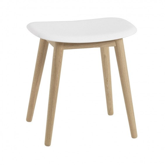 Muuto Fiber Kruk Wood Base