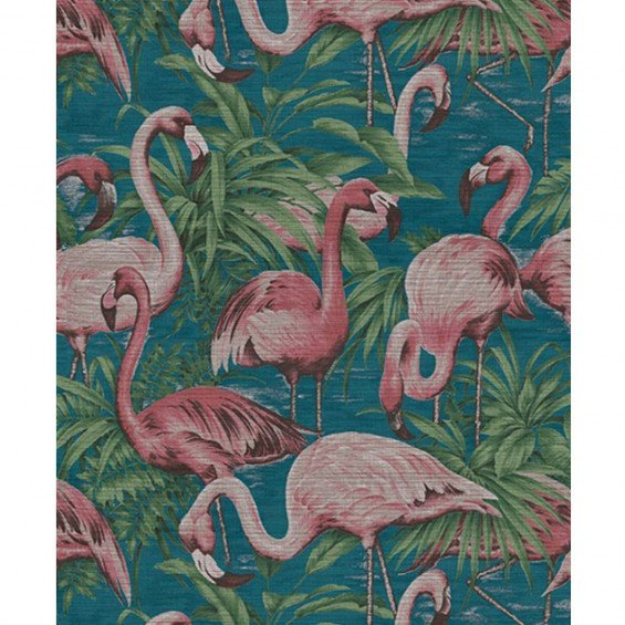 Flamingo Behang