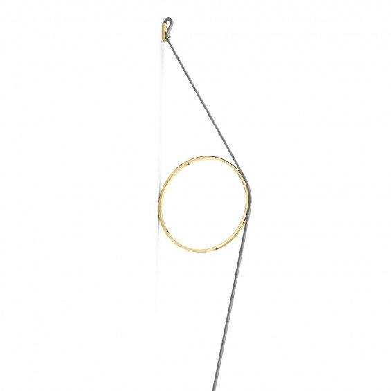 FLOS WireRing Wandlamp Grijs