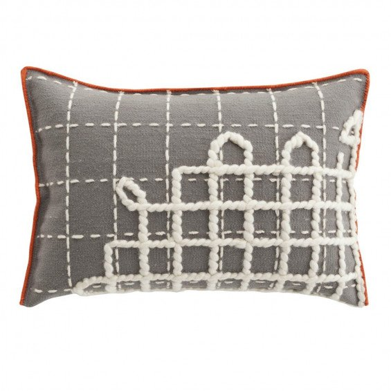 Cushion Bandas Kussen, A Grey