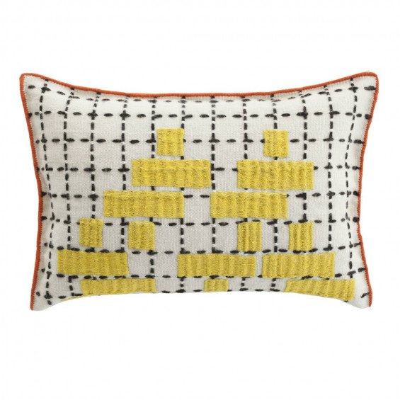 Cushion Bandas Kussen, C Yellow