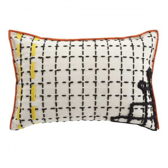 Cushion Bandas Kussen, D White