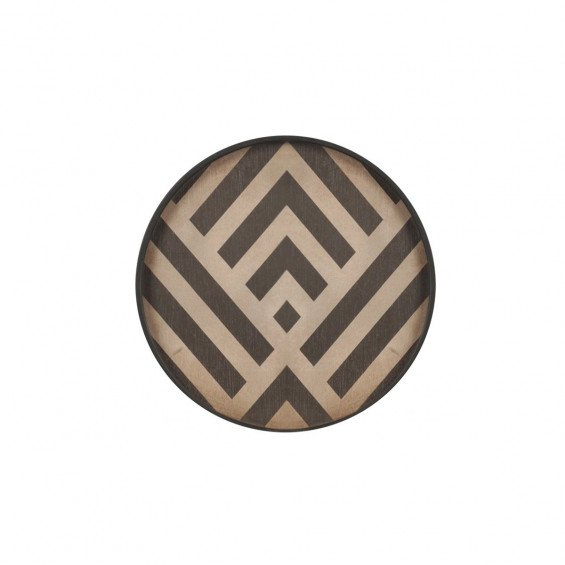 Ethnicraft Graphite Chevron