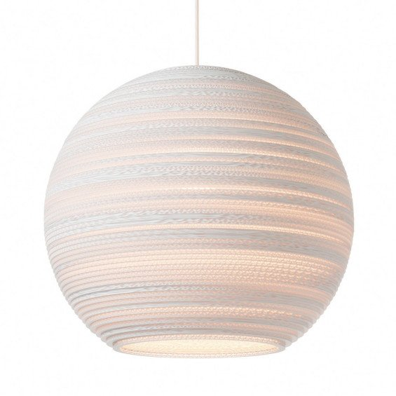 Graypants Moon Hanglamp Wit