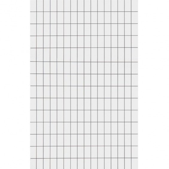 Ferm Living Behang Grid Zwart / Wit