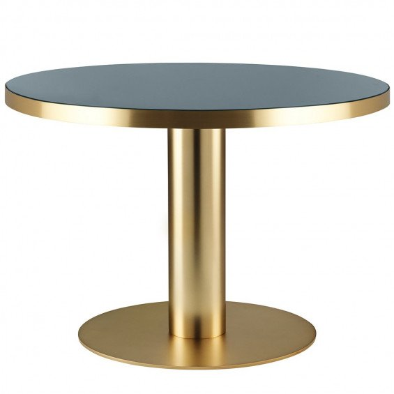 Gubi Round Dining Glass Tafel