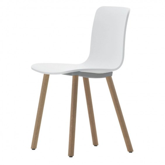 Vitra Hal Wood Chair Stoel