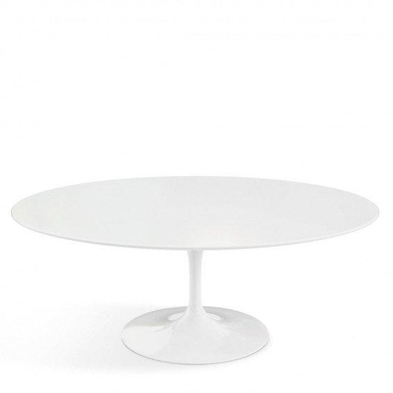 Witte Lage Salontafel.Knoll Saarinen Tulip Salontafel Misterdesign