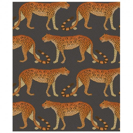 Cole & Son Ardmore Leopard Walk Behang