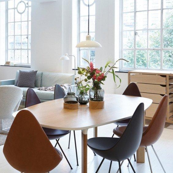 fritz hansen kaiser idell 6631 p hanglamp misterdesign. Black Bedroom Furniture Sets. Home Design Ideas