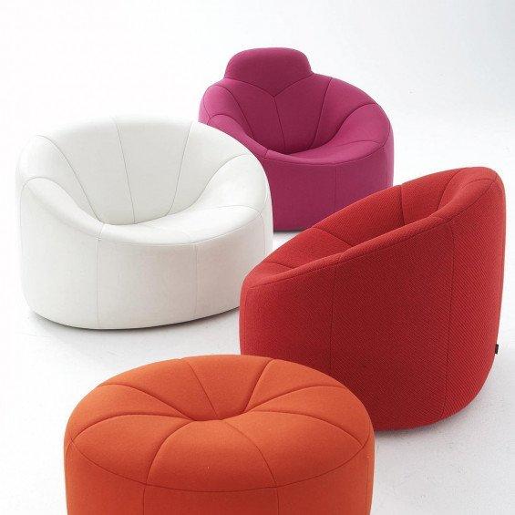 ligne roset pumpkin fauteuil misterdesign. Black Bedroom Furniture Sets. Home Design Ideas