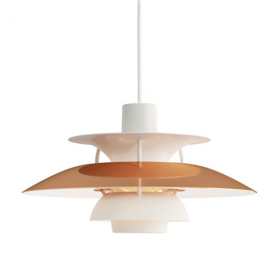 Louis Poulsen PH 5 Mini Hanglamp Koper