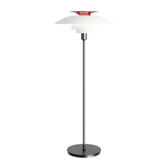 Louis Poulsen PH 80 Vloerlamp - Wit Opaal Acryl