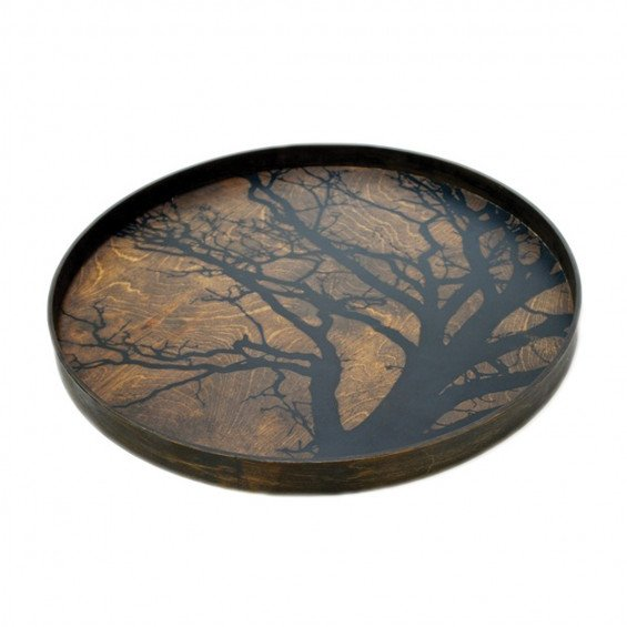 Notre Monde Black Tree Dienblad