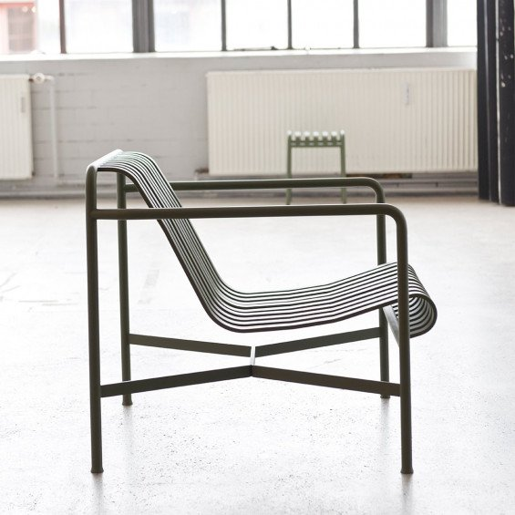 Lage Design Stoelen.Hay Palissade Loungestoel Met Lage Rug Misterdesign