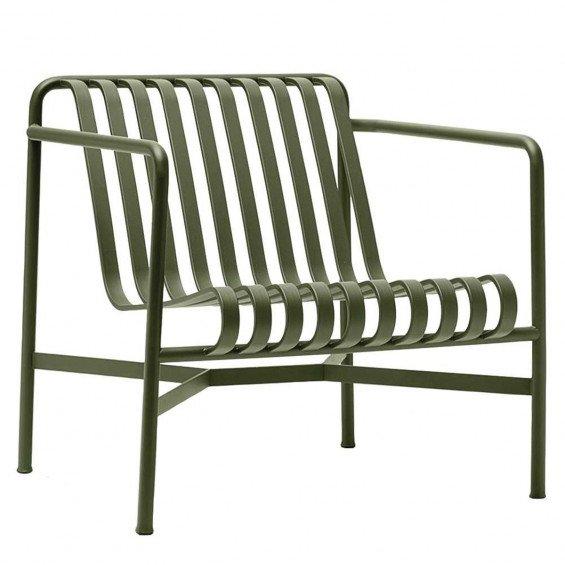 HAY Palissade Loungestoel met lage rug