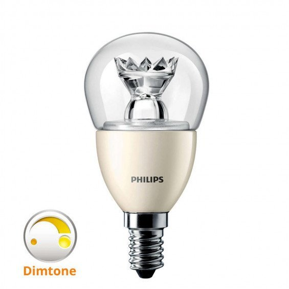 Philips LED E14 8W Dimbaar