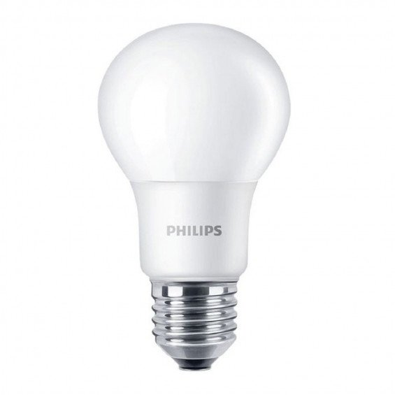 Philips LED E27 A60 8.5W 827 Mat | Dimbaar - Vervangt 60W