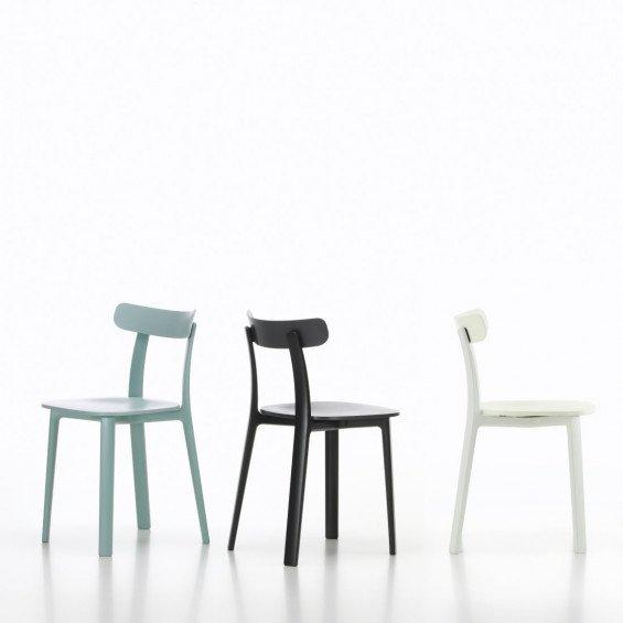 Vitra all plastic stoel misterdesign - Houten plastic stoel ...