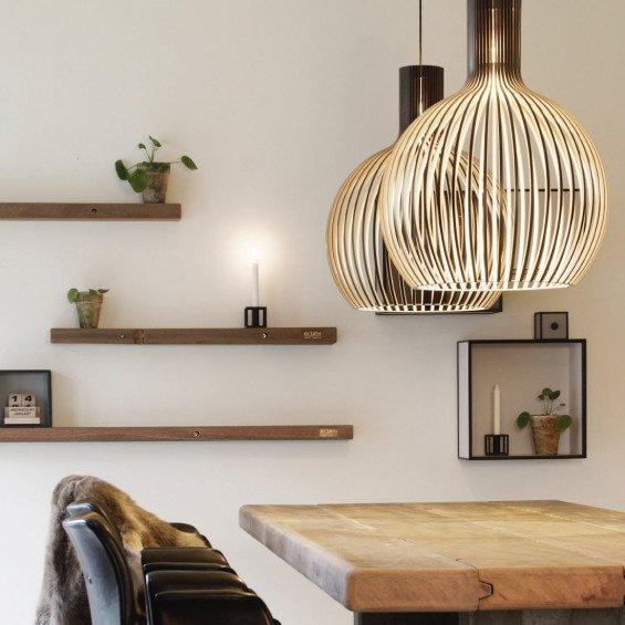 Secto design octo 4240 hanglamp misterdesign for Designer esstisch replica