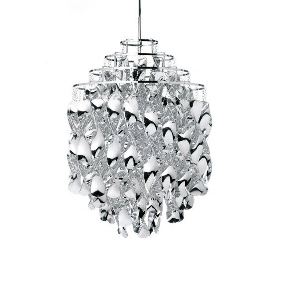 Verpan Spiral Silver Hanglamp