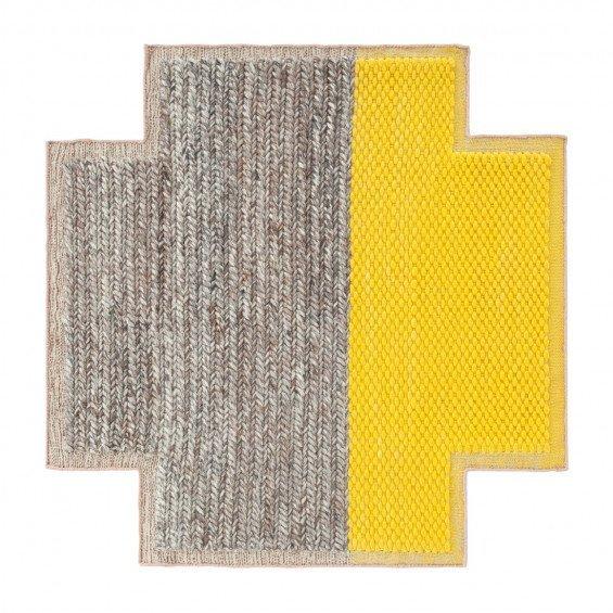 Square Plait Mangas Space Vloerkleed Yellow S