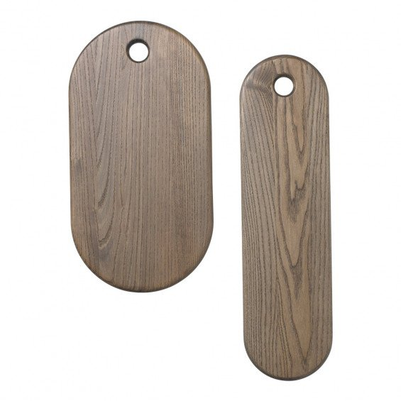 Ferm Living Stage Board Serveerplanken Set - Rustiek Grijs