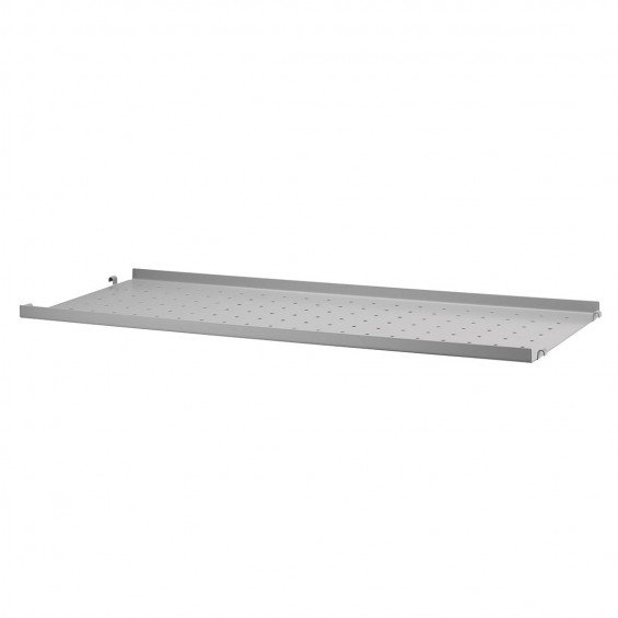String Metal Shelf Low Edge