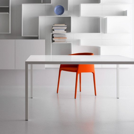 Eettafel Wit Design.Mdf Italia Tense Eettafel Wit Misterdesign
