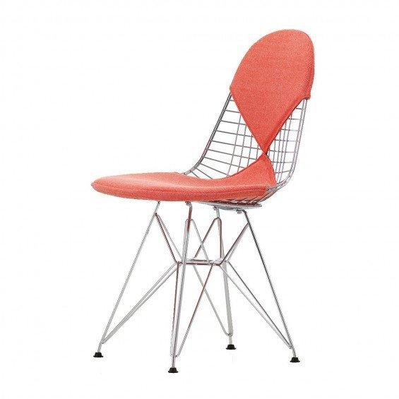 Vitra Wire Chair DKR Gestoffeerd