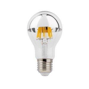 LED E27 6W Zilveren Kopspiegel