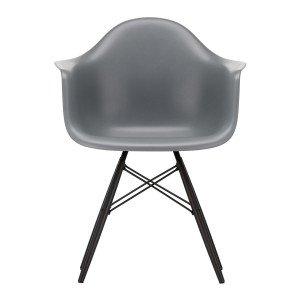 Eames Plastic Chair DAW Esdoorn Zwart