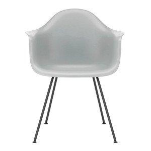 Eames Plastic Chair DAX Zwart Onderstel