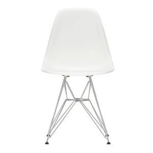Eames Plastic Chair DSR Chroom