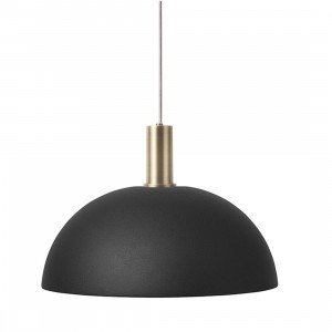 Collect Dome Zwart Low Hanglamp