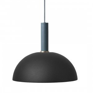 Collect Dome Zwart High Hanglamp