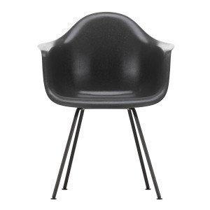 Eames Fiberglass Chair DAX Zwart
