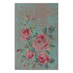 Flowers Canevas Vloerkleed, 200 x 300